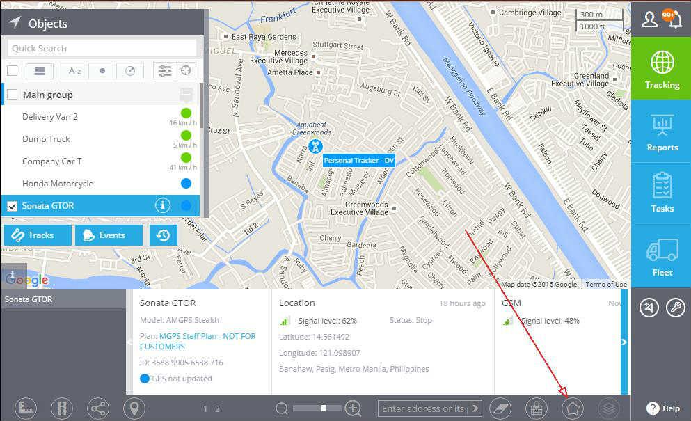 gps tracker geofence philippines