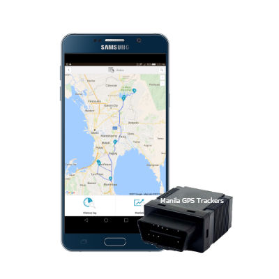 obd gps tracker with App photo