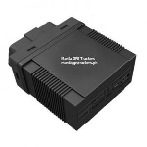 obd gps tracker top side view photo